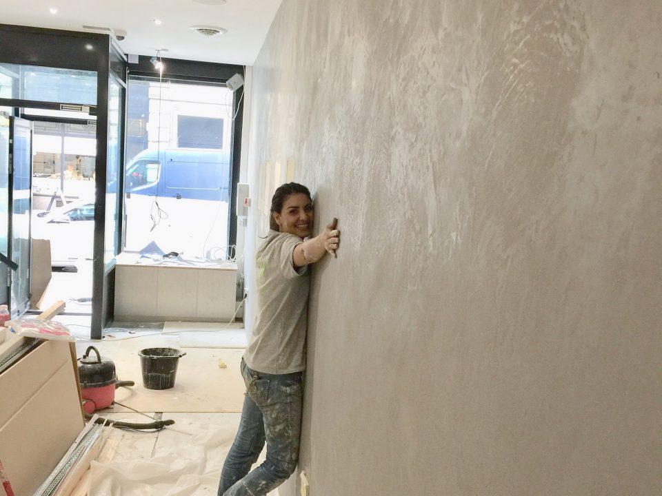 stucco coating London