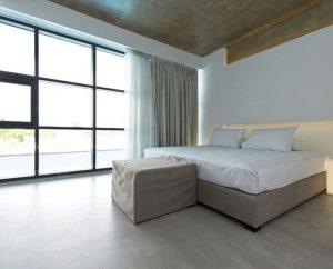 Luxury bedroom interiors by Deco Cemento London