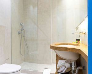 Microcement bathrooms by Deco Cemento London