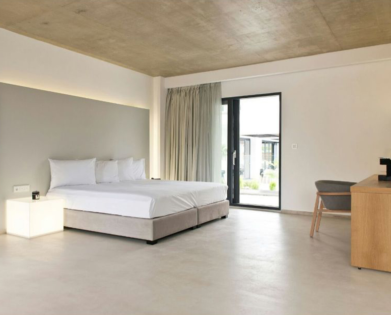 Microcement London - Luxury bedroom designs by Deco Cemento