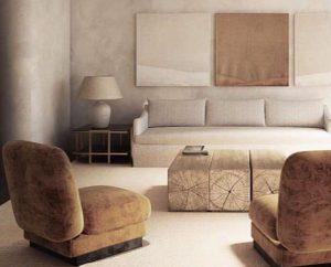 Modern luxury interior design by Deco Cemento London