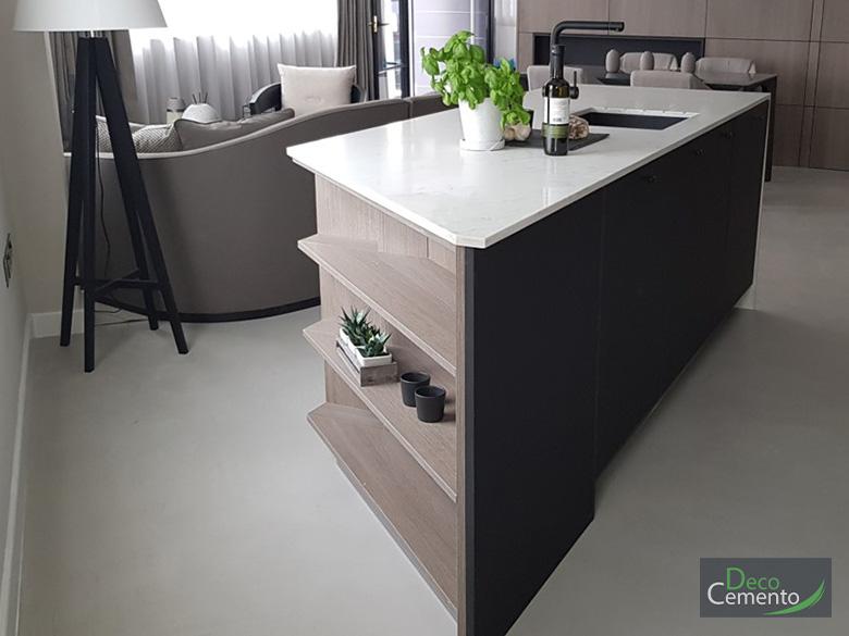 Microcement flooring London - Deco Cemento