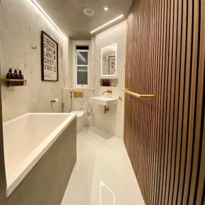 Microcement London - Bathroom by Deco Cemento