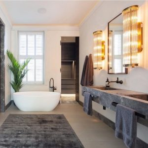 Polished Plaster London - Luxury Polished Plaster Bathroom by Deco Cemento